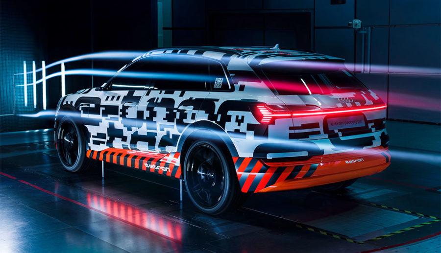 Audi-Elektroauto e-tron: Details zur Aerodynamik