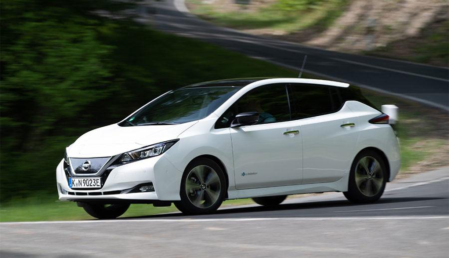 Nissan LEAF: Mehr Reichweite und Leistung im Modelljahr 2019