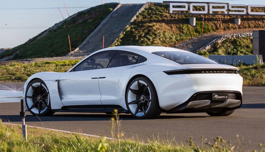 Porsche erklärt Batterie-Sportler Taycan