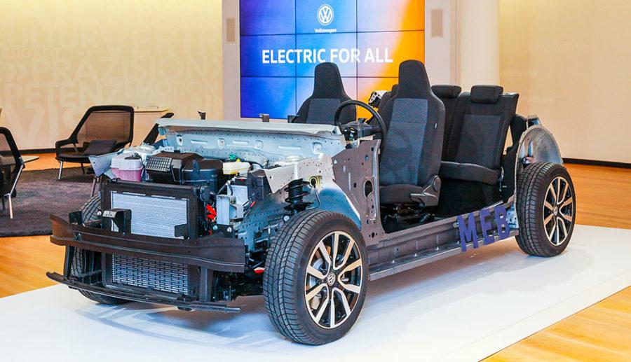 Volkswagen stellt modularen Elektroauto-Baukasten MEB vor