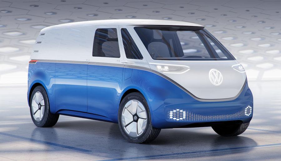 VW stellt I.D. BUZZ CARGO und weitere Elektro-Transporter vor