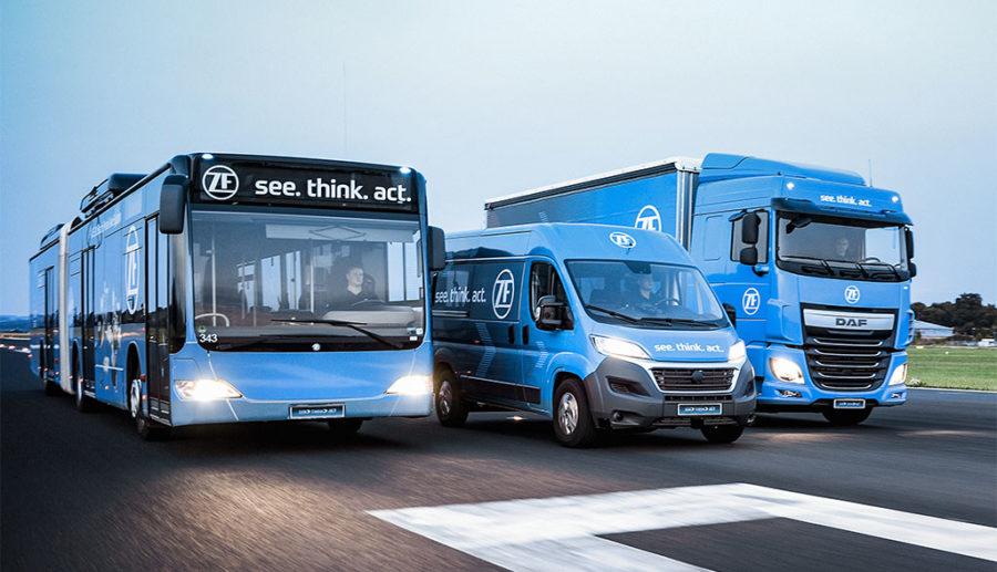 ZF investiert 12+ Milliarden in E-Mobilität und Autonomes Fahren