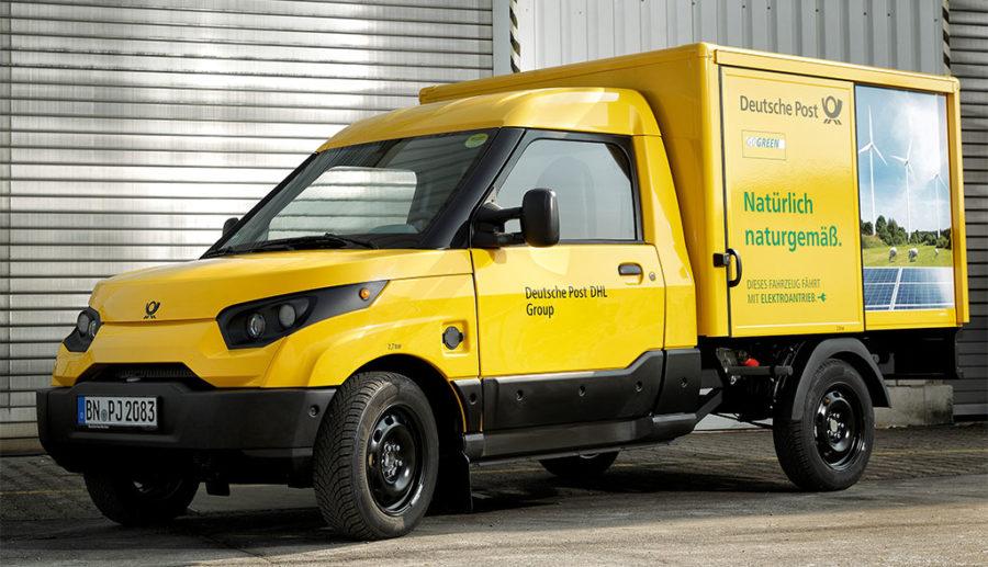 Deutsche Post jetzt mit über 8000 Elektroauto-Transportern von StreetScooter