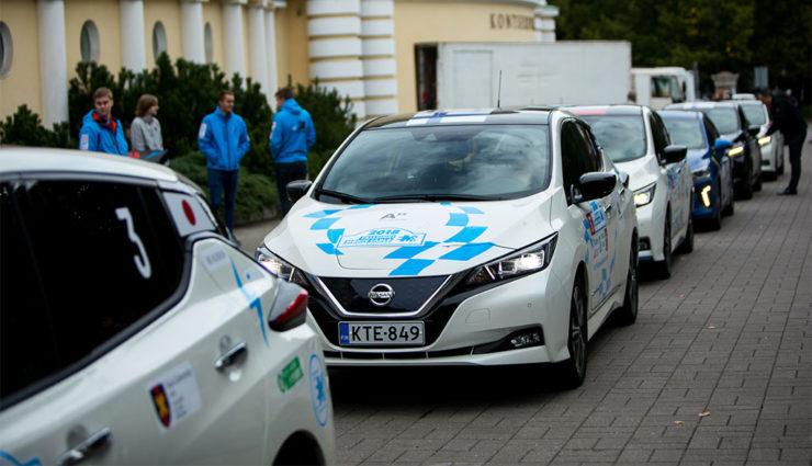 Nissan LEAF führt Elektroauto-Verkaufscharts in Europa an