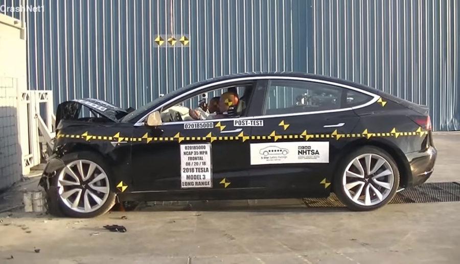 Tesla: Model 3 laut US-Behörde mit niedrigster Wahrscheinlichkeit für Personenschäden
