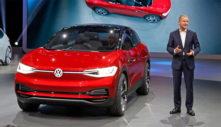 """Volkswagen-Chef Diess: Kohle-Strom führt E-Mobilität """"ad absurdum"""""""