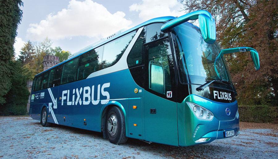Flixbus flottet ersten Elektro-Fernbus in Deutschland ein