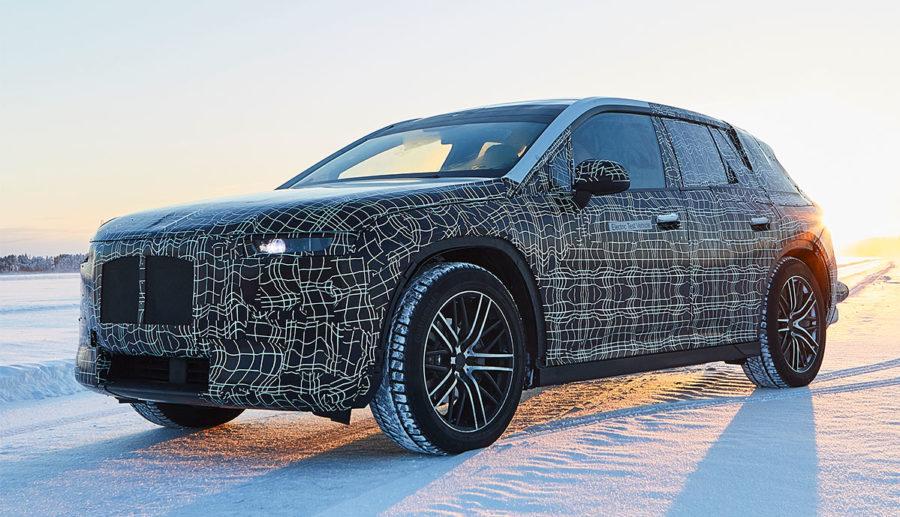 BMW zeigt Elektroauto-Technologieträger iNEXT am Polarkreis