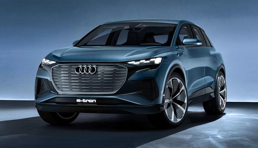 Audi enthüllt kompaktes Elektro-SUV Q4 e-tron concept