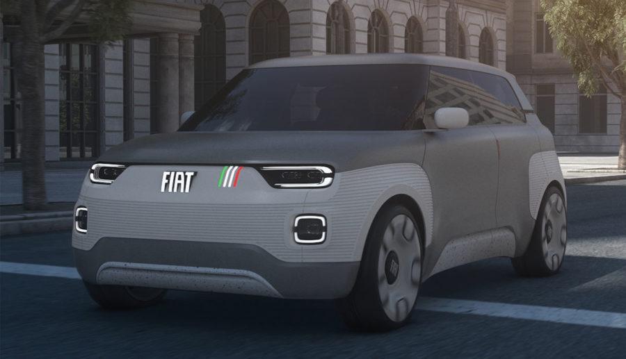 Fiat Concept Centoventi: Modulares Elektroauto für die Stadt