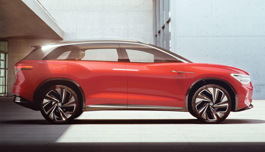 VW enthüllt neues Elektroauto-SUV I.D. ROOMZZ
