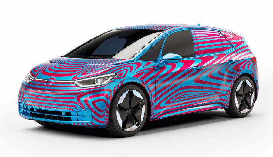 """VWs neues Elektroauto """"ID.3"""" kann ab sofort registriert werden, Auslieferung Mitte 2020"""