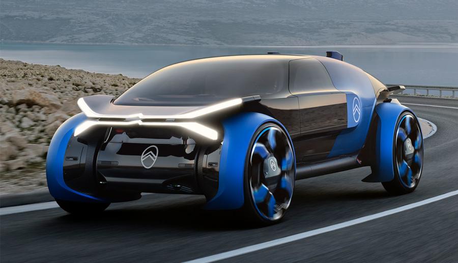 """Citroën 19_19 Concept: Elektrisches """"Wohnzimmer auf Rädern"""" für lange Strecken"""