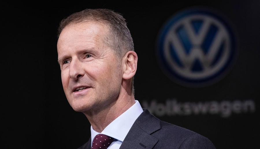"""Volkswagen-Chef Diess: """"Als Konzern werden wir das Elektroauto erfolgreich machen"""""""
