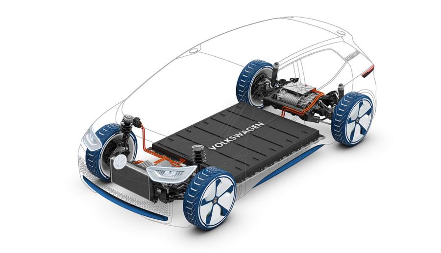 VW nennt zentrale Vorteile der Elektroauto-Plattform MEB