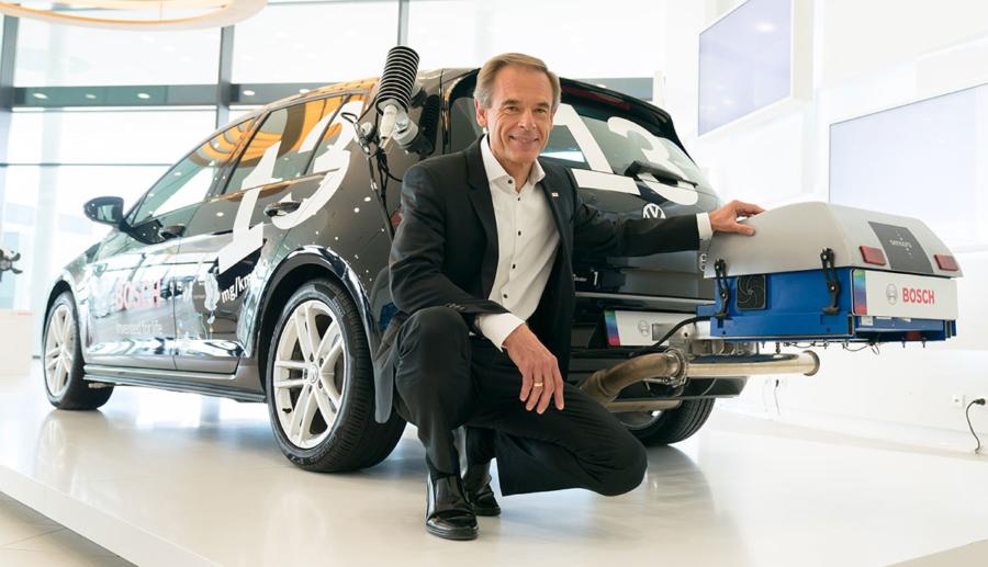 """Bosch-Chef Denner: """"Elektroauto verursacht nicht null Gramm CO2"""""""