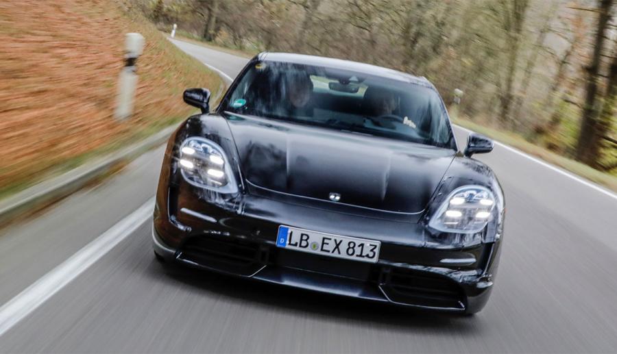 Porsche Taycan soll in vier Varianten kommen