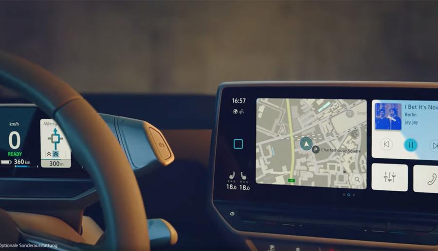 Neues VW-Video gibt Ausblick auf ID.3-Cockpit