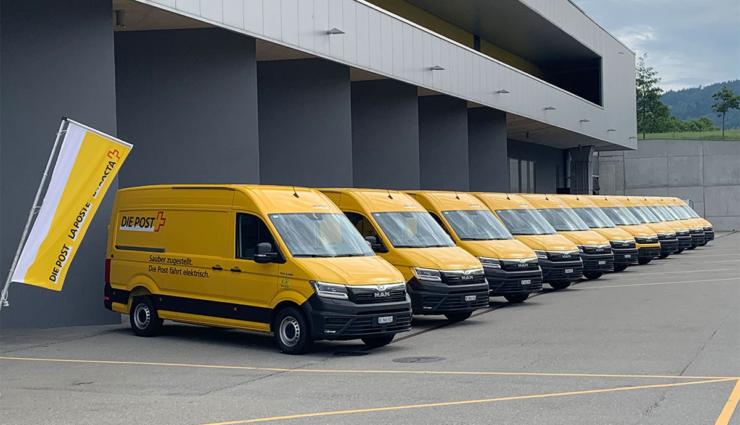 Schweizer Post flottet 11 neue Stromer ein, 400 Elektro-Lieferwagen bis 2023