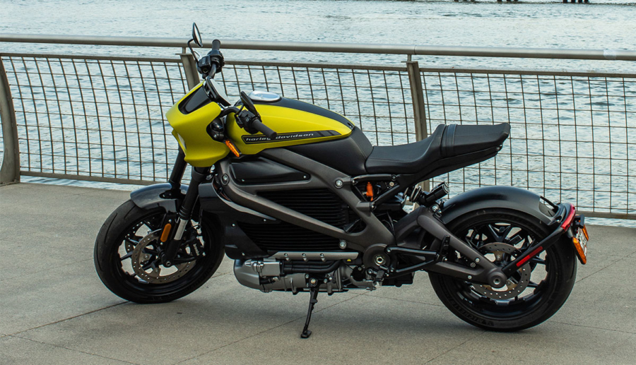 Harley-Davidson LiveWire fährt mit 15,5-kWh-Batterie, 78 kW (106 PS) starker E-Motor