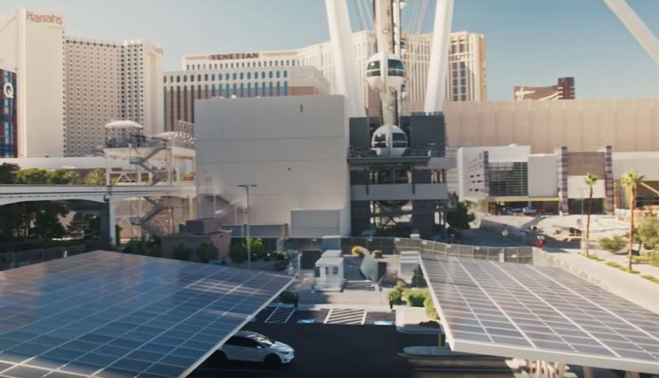 Tesla eröffnet großen Supercharger-Standort in Las Vegas mit neuester Technik