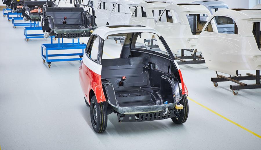 Artega darf Kleinst-Elektroauto Karolino nicht auf der IAA zeigen