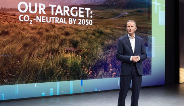 Volkswagen-Chef Diess kritisiert Wasserstoff-Autos