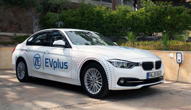 Neue Plug-in-Hybrid-Technik von ZF erlaubt über 100 Elektro-Kilometer