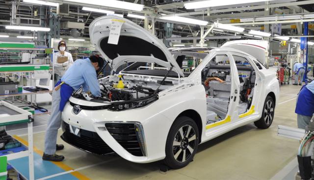 Toyota baut 10.000. Wasserstoff-Limousine Mirai