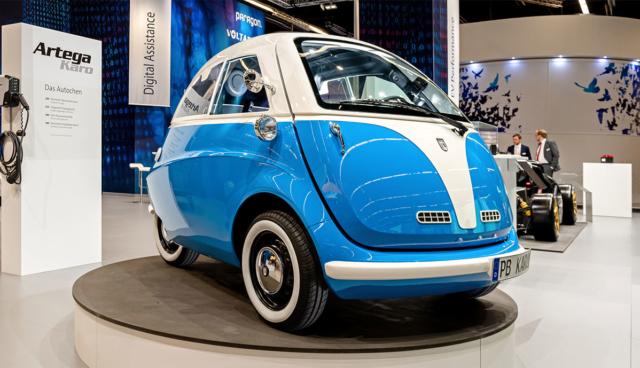 Artega stellt Elektro-Leichtfahrzeug Karo vor