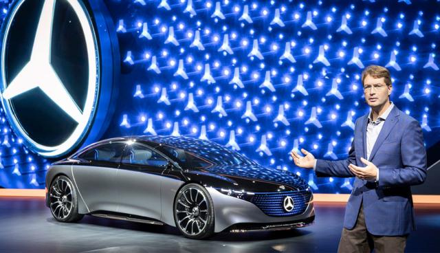 Daimler konzentriert sich bei Elektroautos auf Batterie-Technik