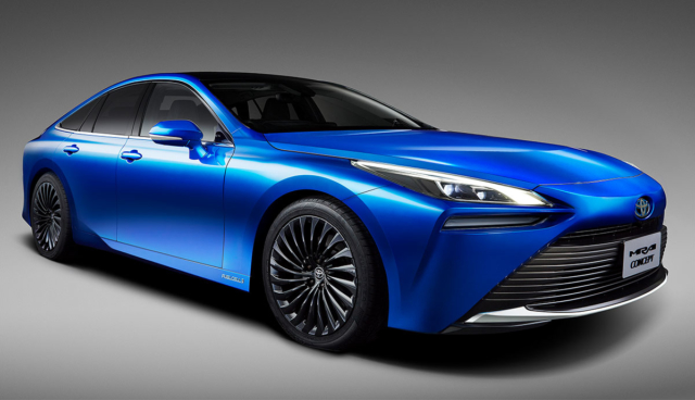 Toyota Mirai Concept: Neue Wasserstoffauto-Generation kommt 2020