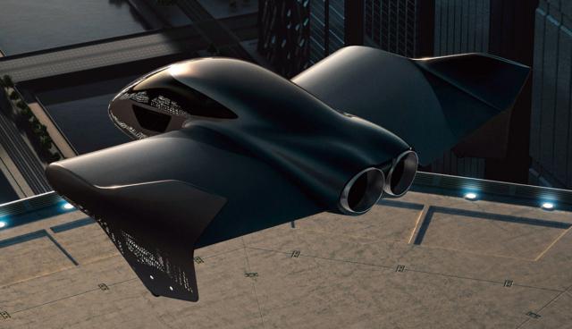 Porsche entwirft mit Boeing Elektro-Fluggerät für die Stadt