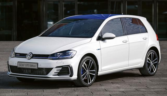 Plug-in-Hybrid VW Golf GTE Edition erhältlich