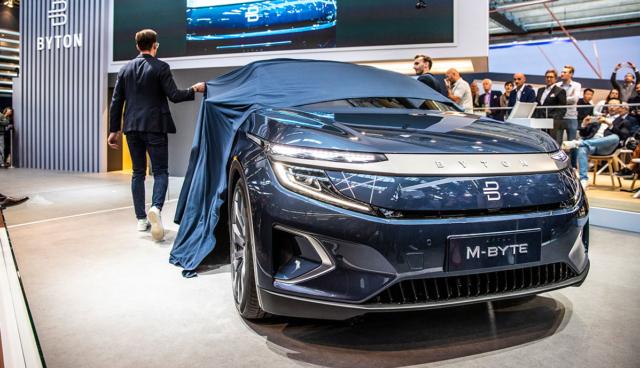 China-Elektroauto Byton M-Byte soll in Europa ab rund 54.000 Euro kosten