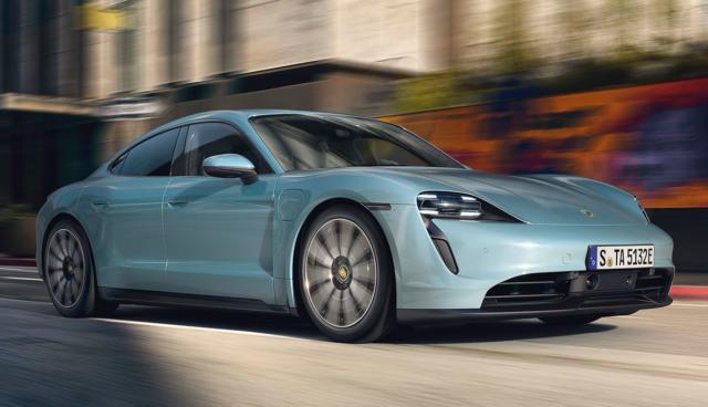 Porsche: Neues Taycan-Einstiegsmodell 4S kostet ab 105.607 Euro