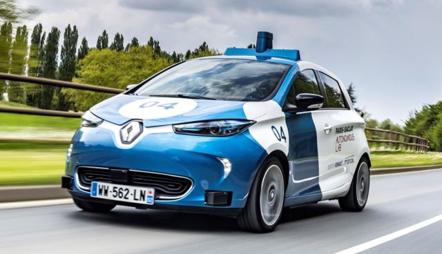 Renault testet autonome Elektroauto-Taxis in Paris