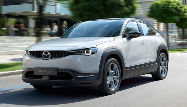 Mazda-Elektroauto MX-30 kommt ab Mitte 2020