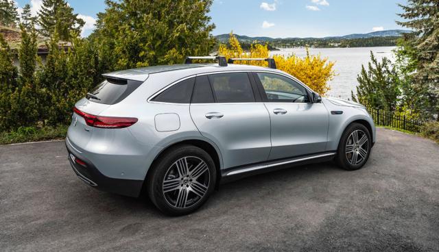 Batterie-SUV EQC: Mercedes veröffentlicht Umweltbilanz