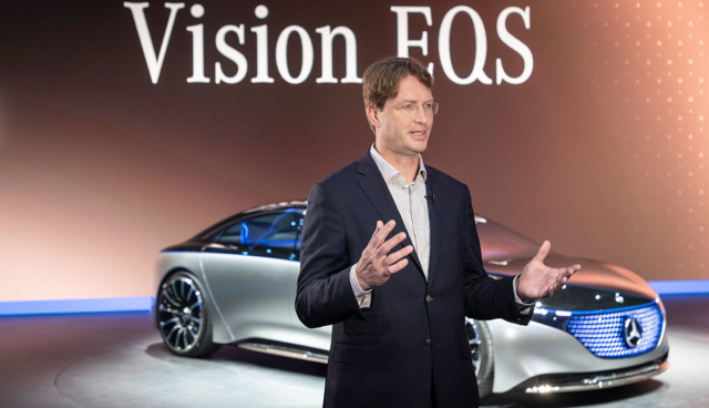 Neuer Daimler-Chef Källenius räumt späten Elektroauto-Hochlauf ein