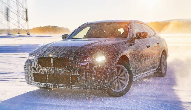 Elektro-Limousine BMW i4 mit 600 Kilometer Reichweite kommt 2021