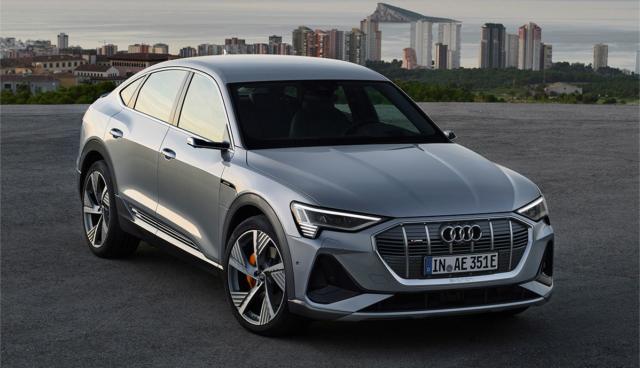 Audi e-tron Sportback: So sieht das zweite Elektroauto der Ingolstädter aus