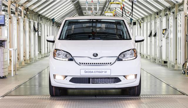 Škoda CITIGOe iV wird ab sofort in Serie produziert