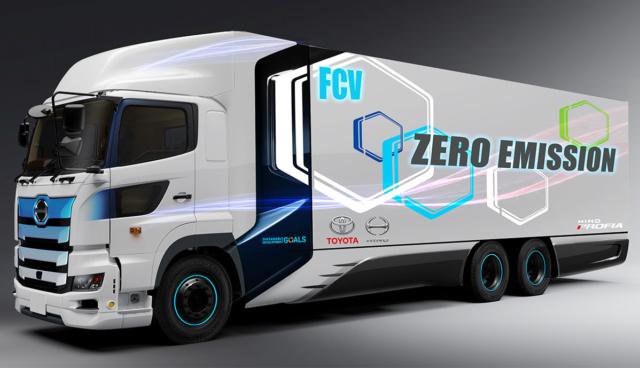 Toyota-Hino-Wasserstoff-Lkw
