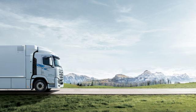 Hyundai-Wasserstoff-Lkw