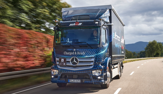 Daimler-eActros