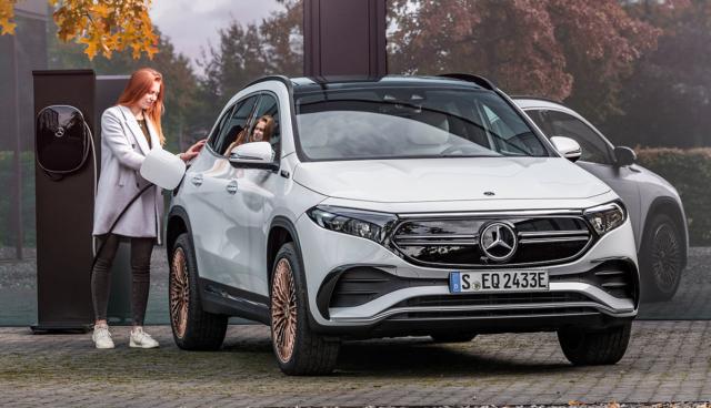 Mercedes-EQA-Ladestation