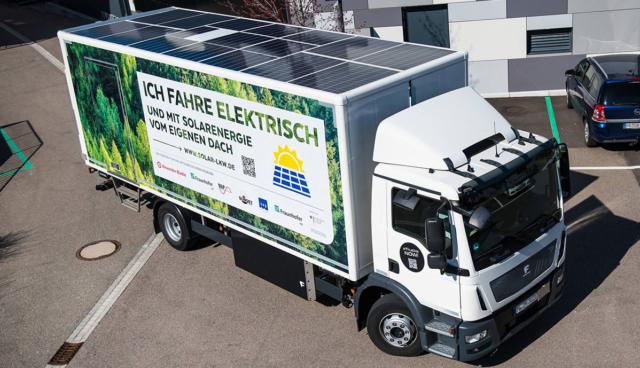 Solar-E-LKW-Fraunhofer-ISE
