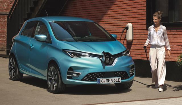 Renault-ZOE-aufladen